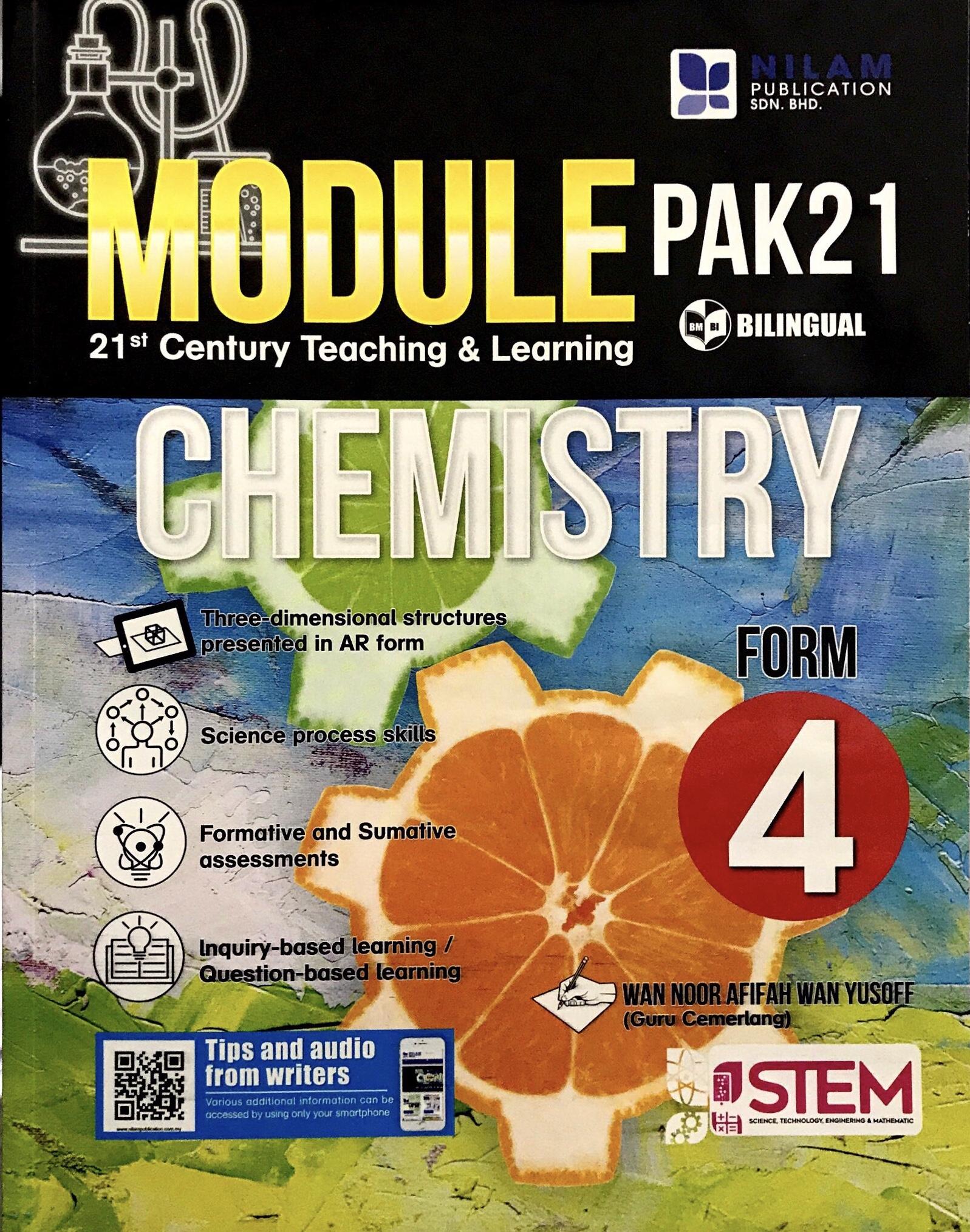 Modul Pengajaran & Pembelajaran Abad Ke-21 Chemistry Form 4 (2019)