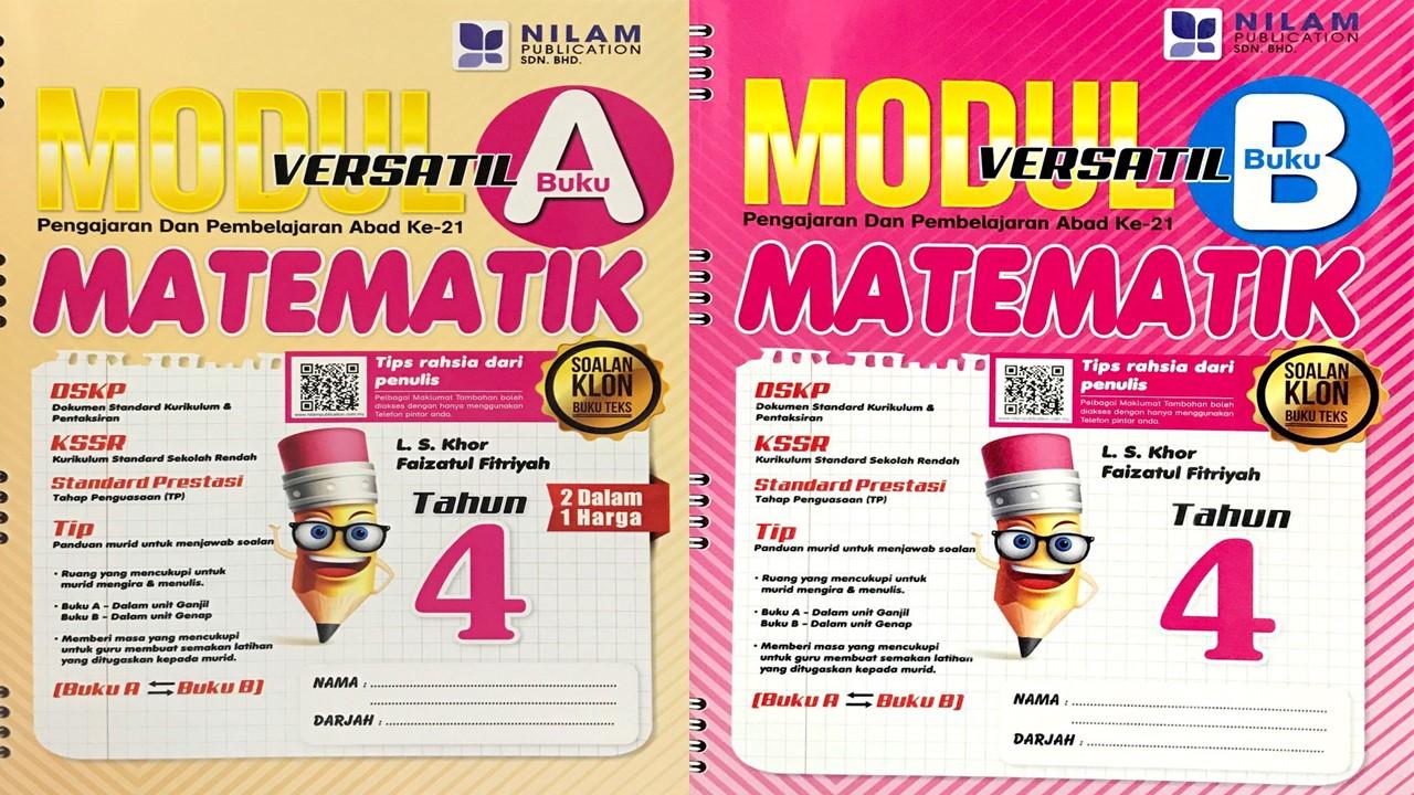 Modul Versatil 2 Dalam 1 Matematik Tahun 4 BM (2019)