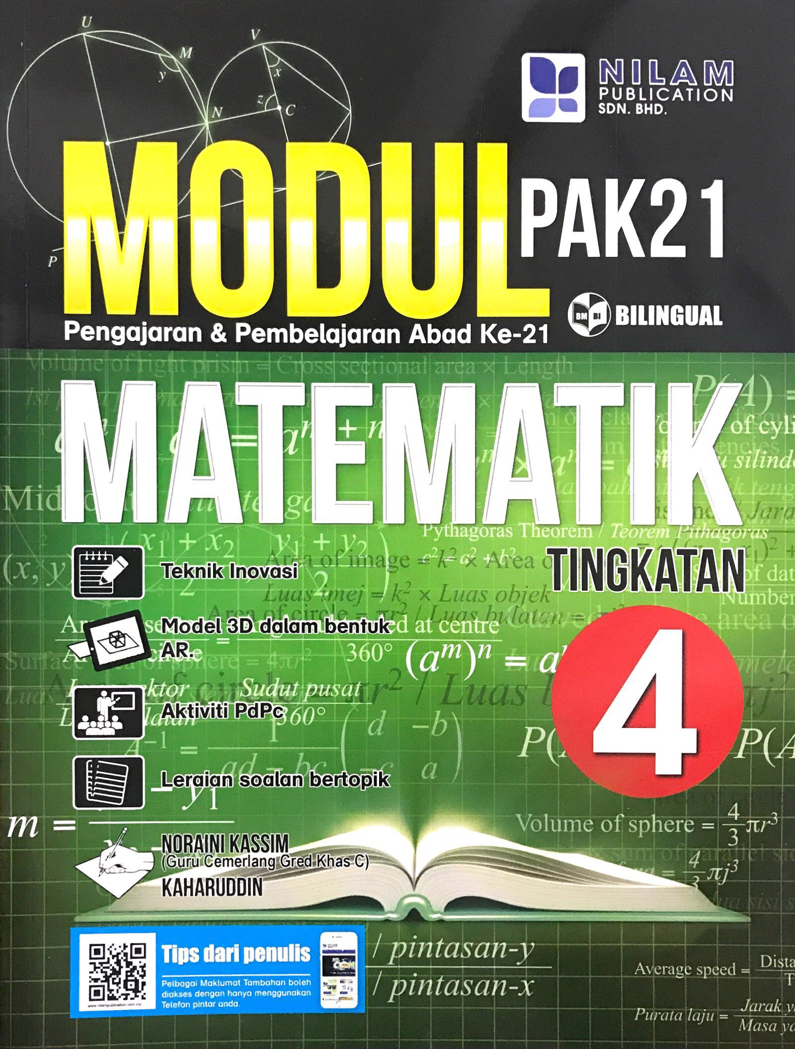 Modul Pembelajaran & Pengajaran Abad Ke-21 Matematik Tingkatan 4 (2019)