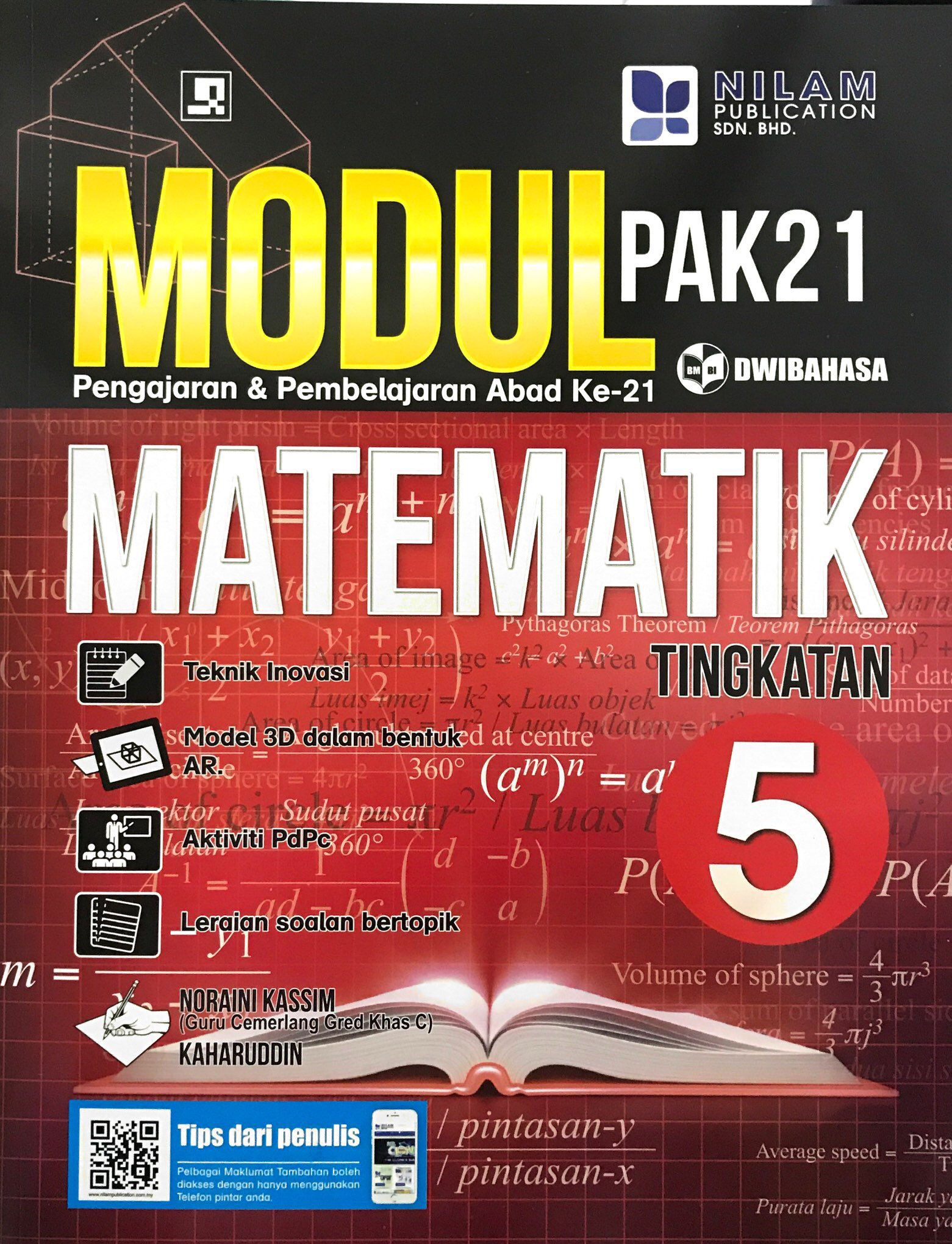 Modul Pengajaran & Pembelajaran Abad Ke-21 Matematik Tingkatan 5 (2019)
