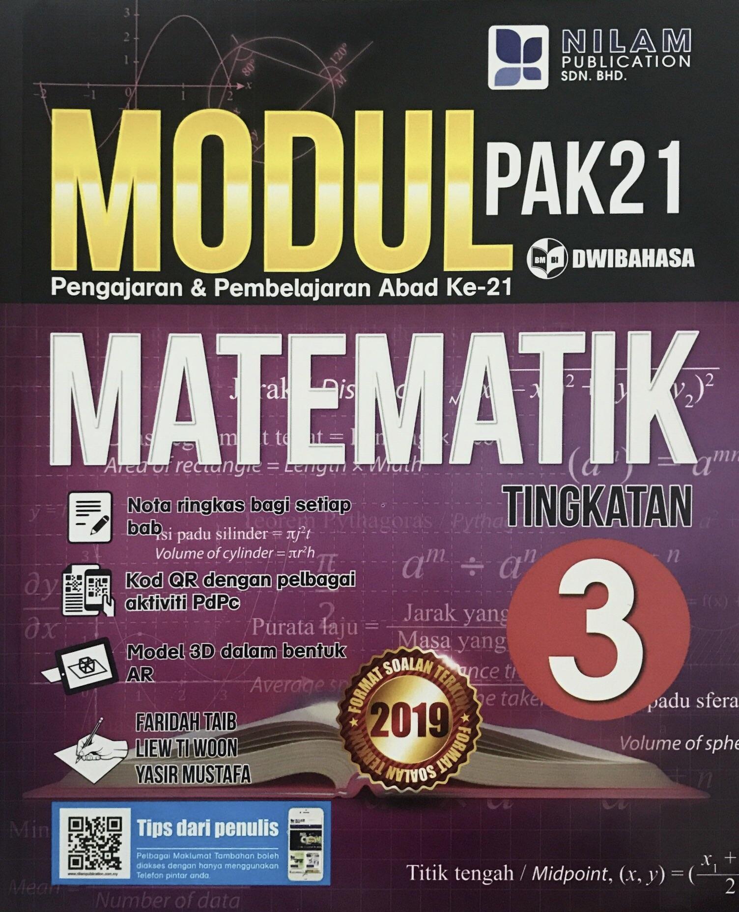 Modul Pembelajaran & Pengajaran Abad Ke-21 Matematik Tingkatan 3  (2019)