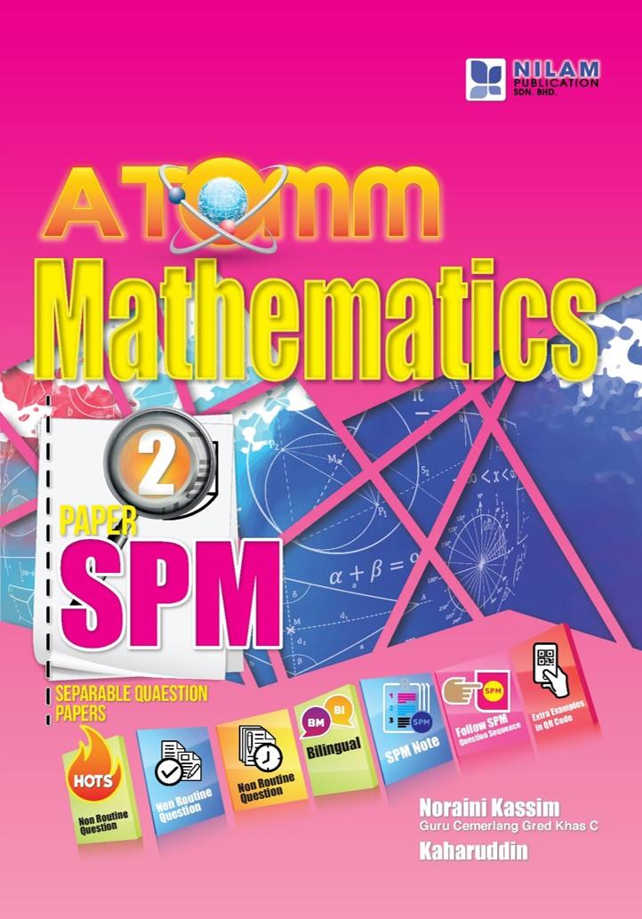 ATOMM Matematik SPM Kertas 2 (2019)
