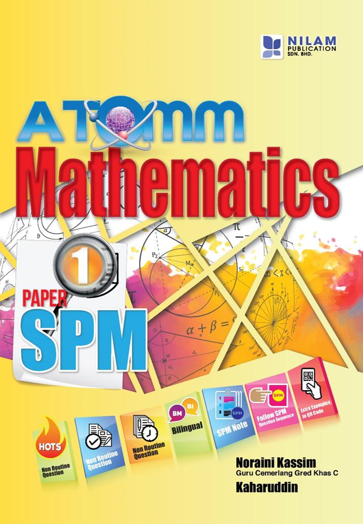 ATOMM Mathematics SPM Paper 1 (2019)