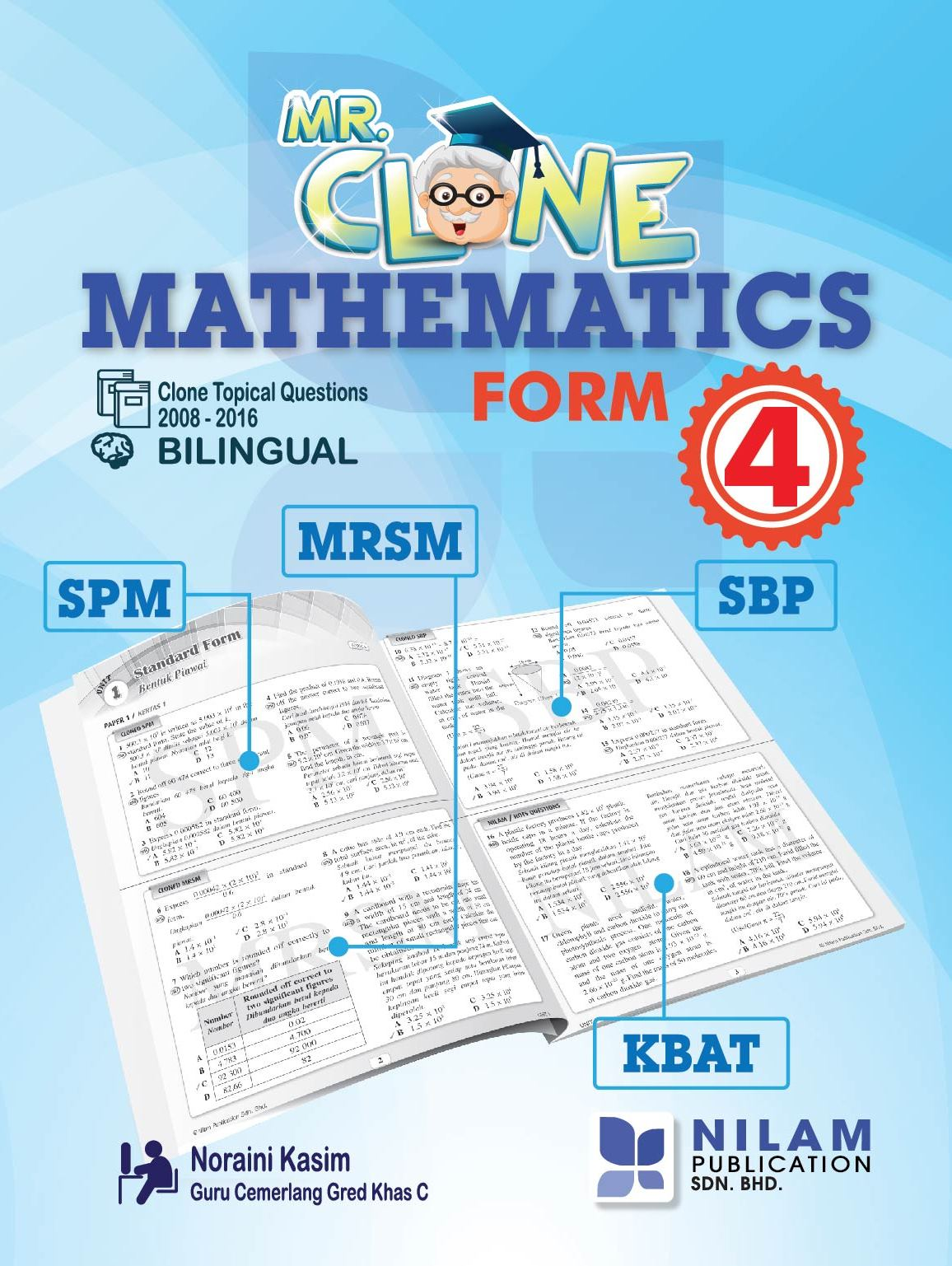 Mr. Clone Mathematics Form 4 (2017)