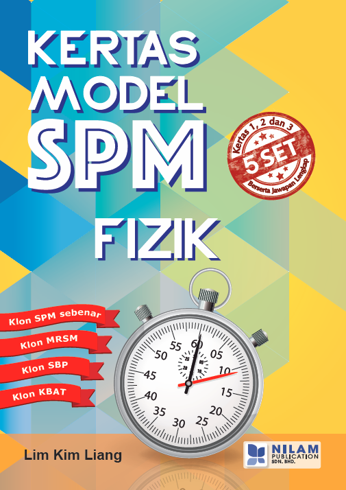 Clearance Stock Kertas Model SPM Fizik