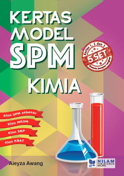 Clearance Stock Kertas Model SPM Kimia (2016)