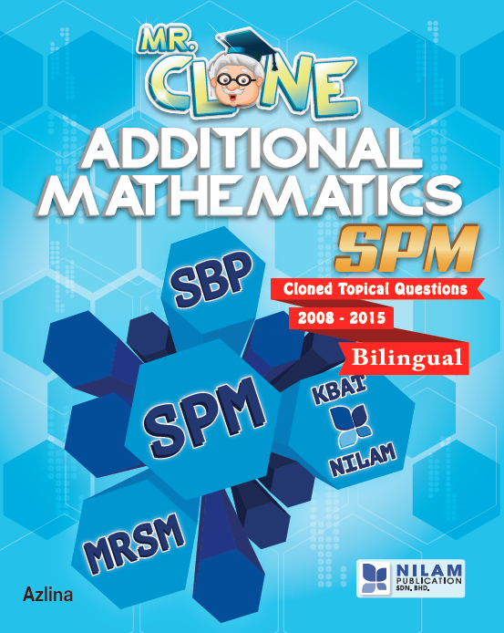 Clearance Stock Mr. Clone Additional Mathematics SPM (2016)