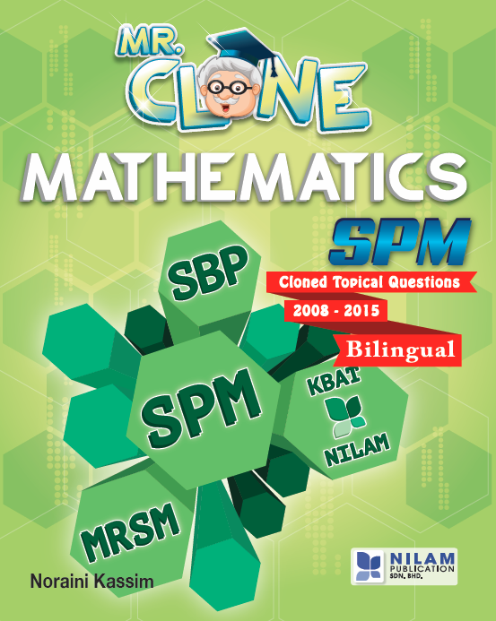 Clearance Stock Mr. Clone Mathematics SPM (2016)