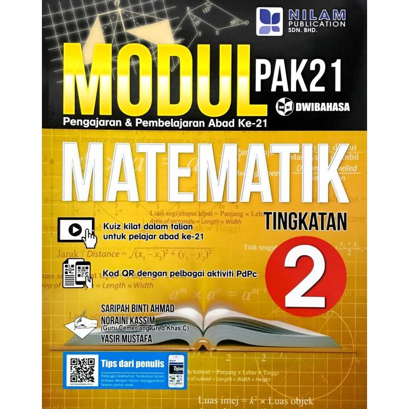 Modul Pembelajaran & Pengajaran Abad Ke-21 Matematik Tingkatan 2  (2019)
