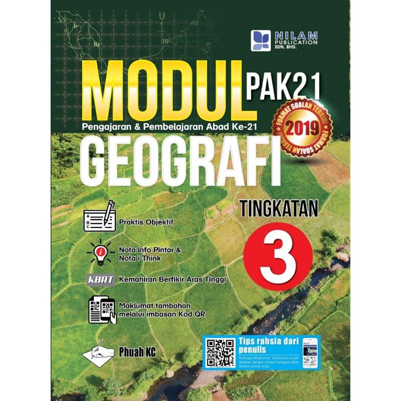 Modul Pembelajaran & Pengajaran Abad Ke-21 Geografi Tingkatan 3 (2019)