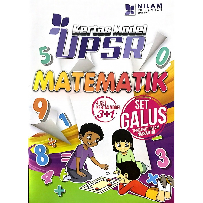 Kertas Model UPSR Matematik (2019)