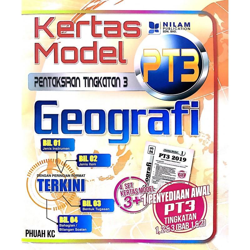 Kertas Model PT3  Geografi (2019)