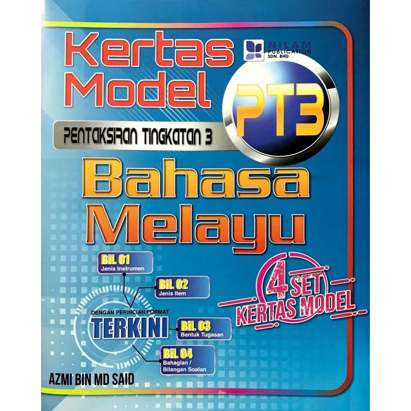 Kertas Model PT3 Bahasa Melayu (2019)