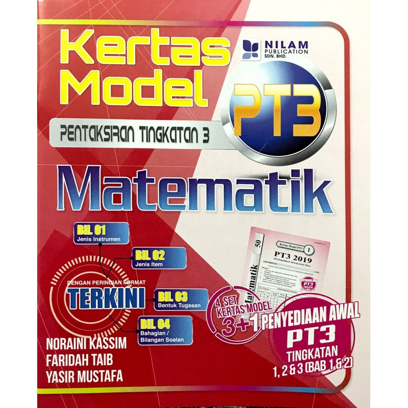 Kertas Model PT3 Matematik (2019)