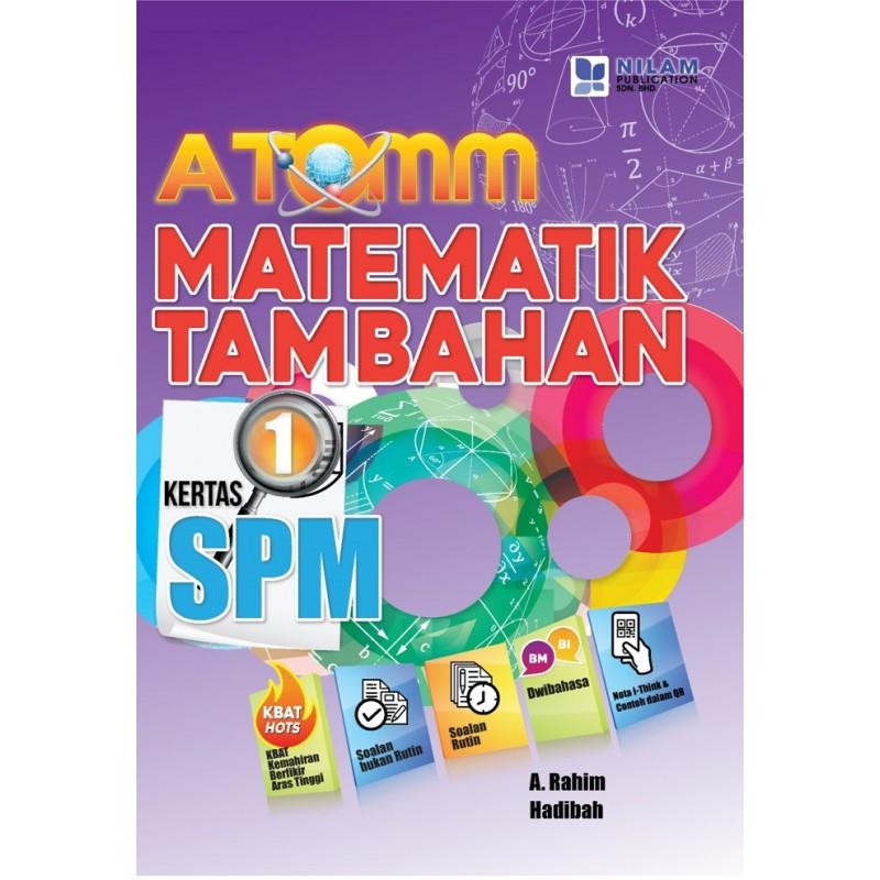ATOMM Matematik Tambahan SPM Kertas 1 (2019)