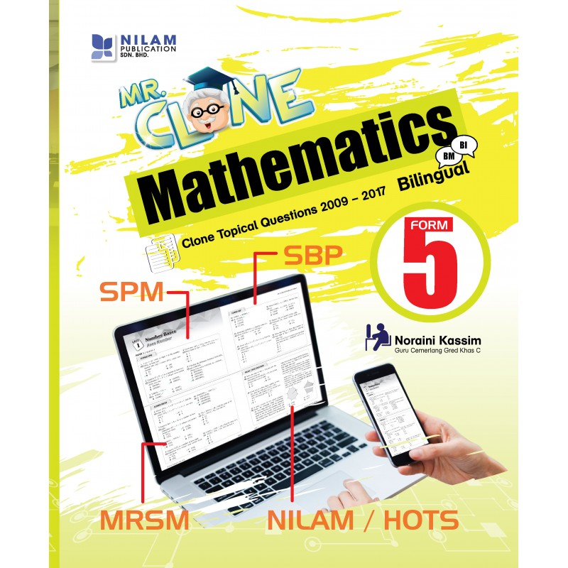 Mr. Clone Mathematics Form 5 (2018)