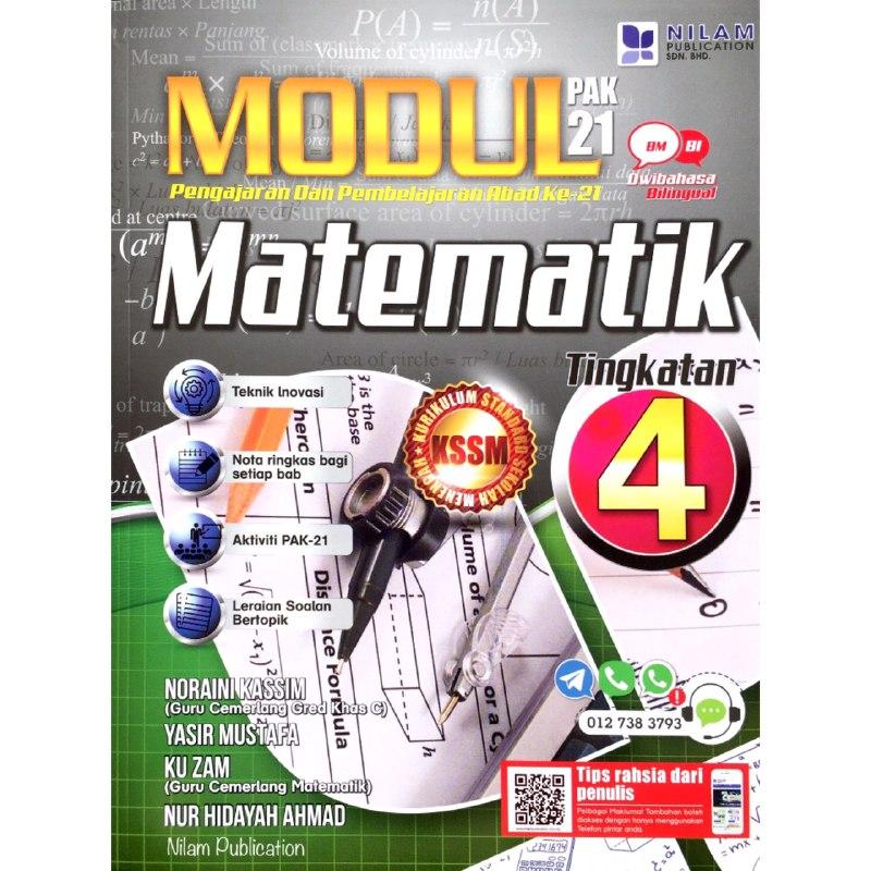 Buku Latihan Matematik Tingkatan 4 Kssm