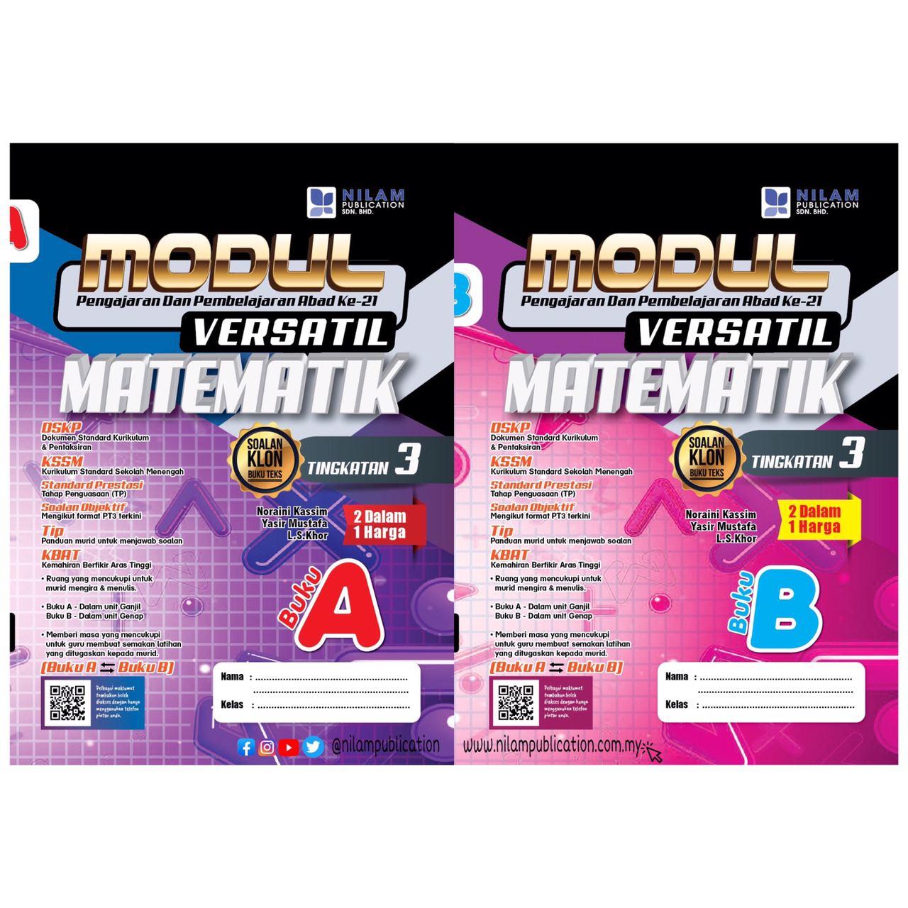 Buku Latihan Matematik Tingkatan 3 2021 - Conquer Modul ...